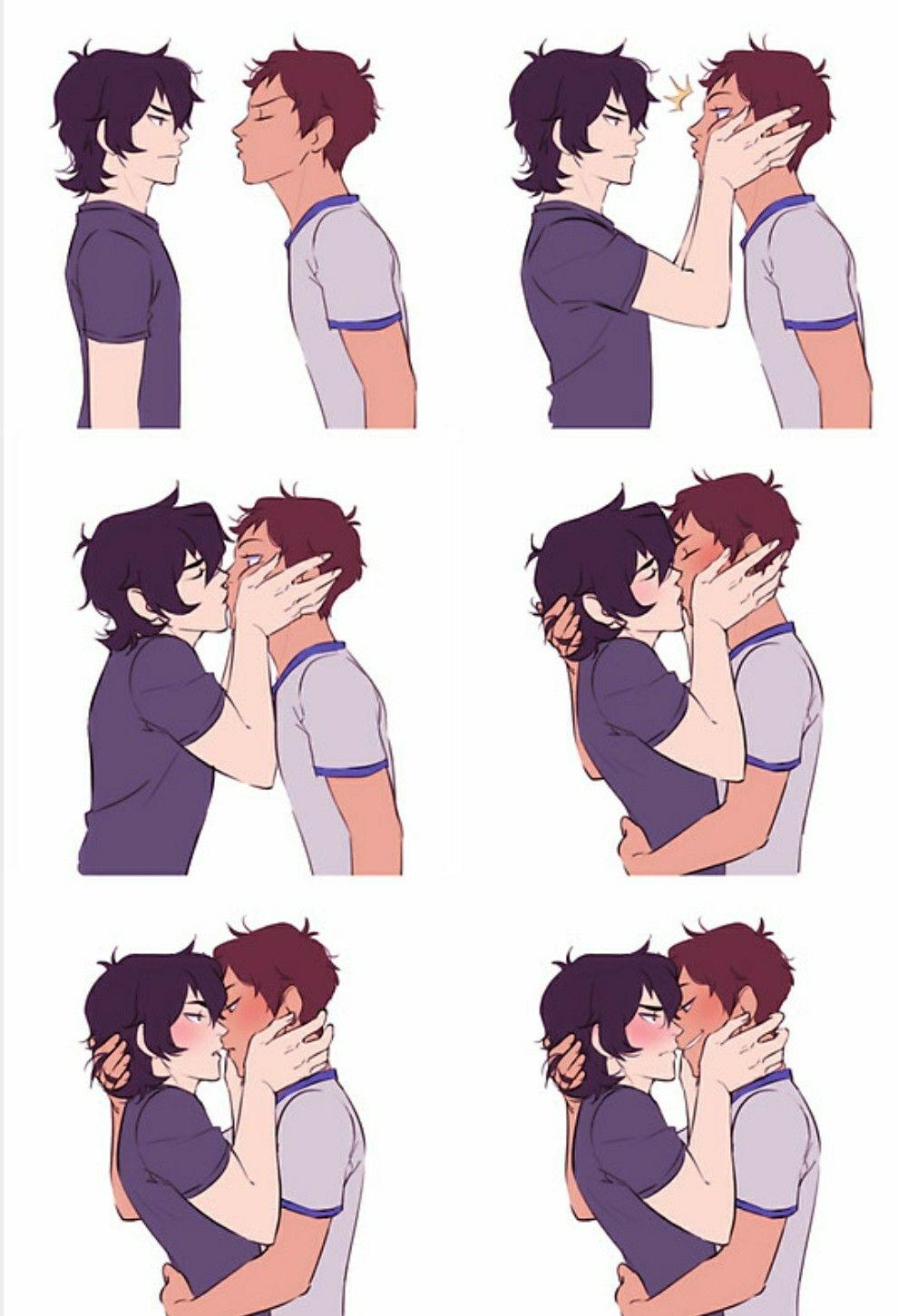 Klance Voltron kiss | Voltron | Klance, Klance comics, Voltron klance