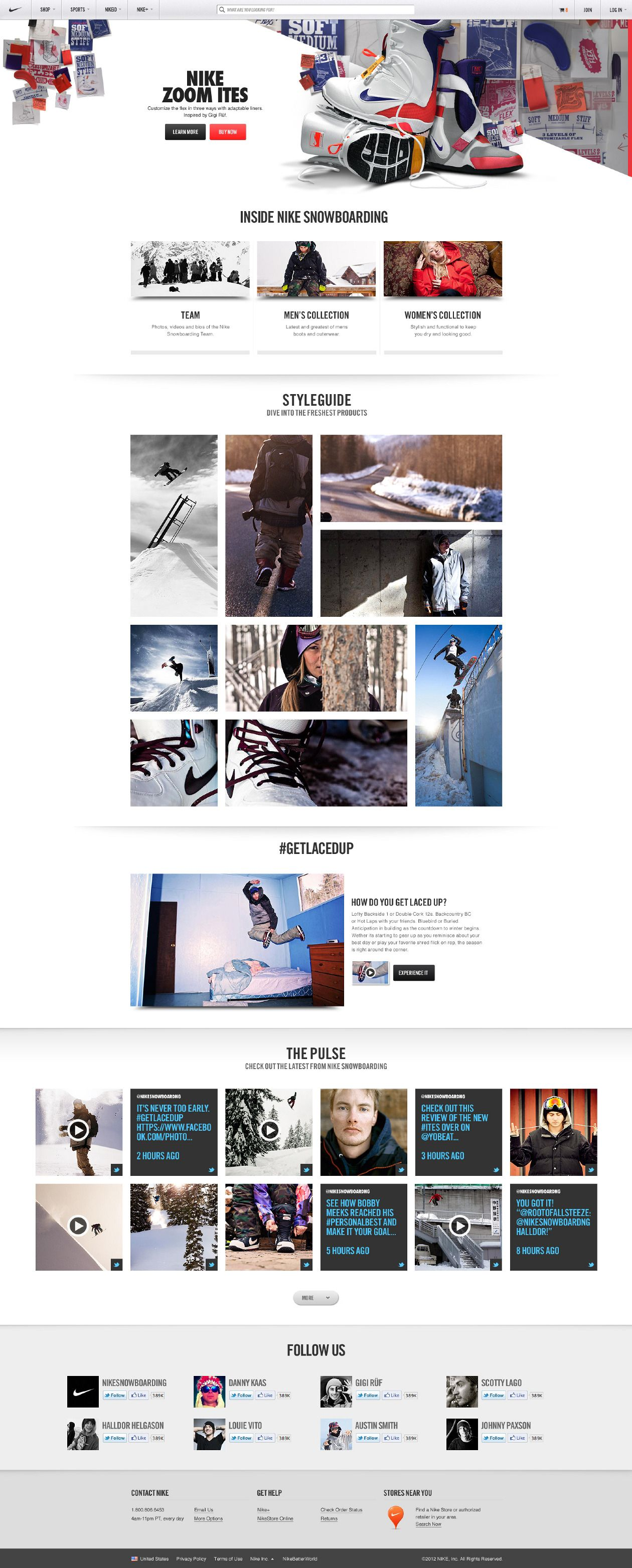 Nike Snowboarding - Hoshi Ludwig - Direction and Design