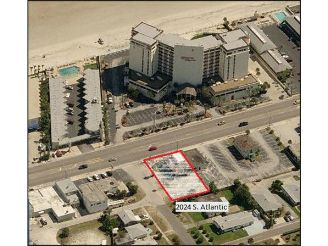 Daytona Beach Fl Treasure Island Hotel Abandoned