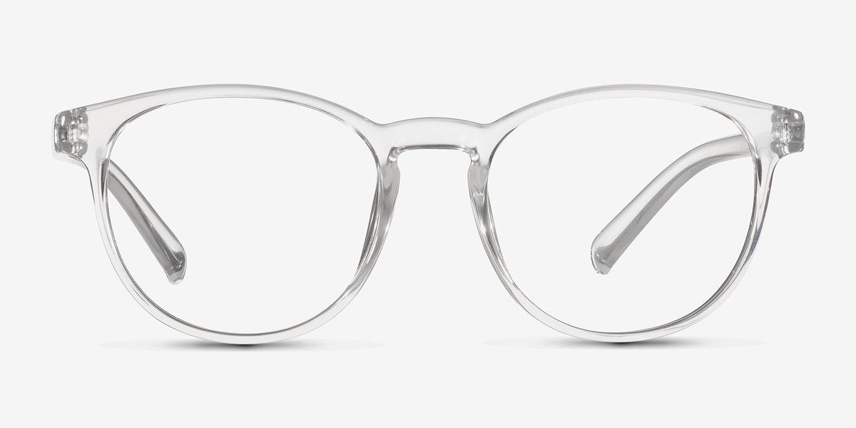 Little Chilling Clear Plastic Eyeglasses from EyeBuyDirect ...
