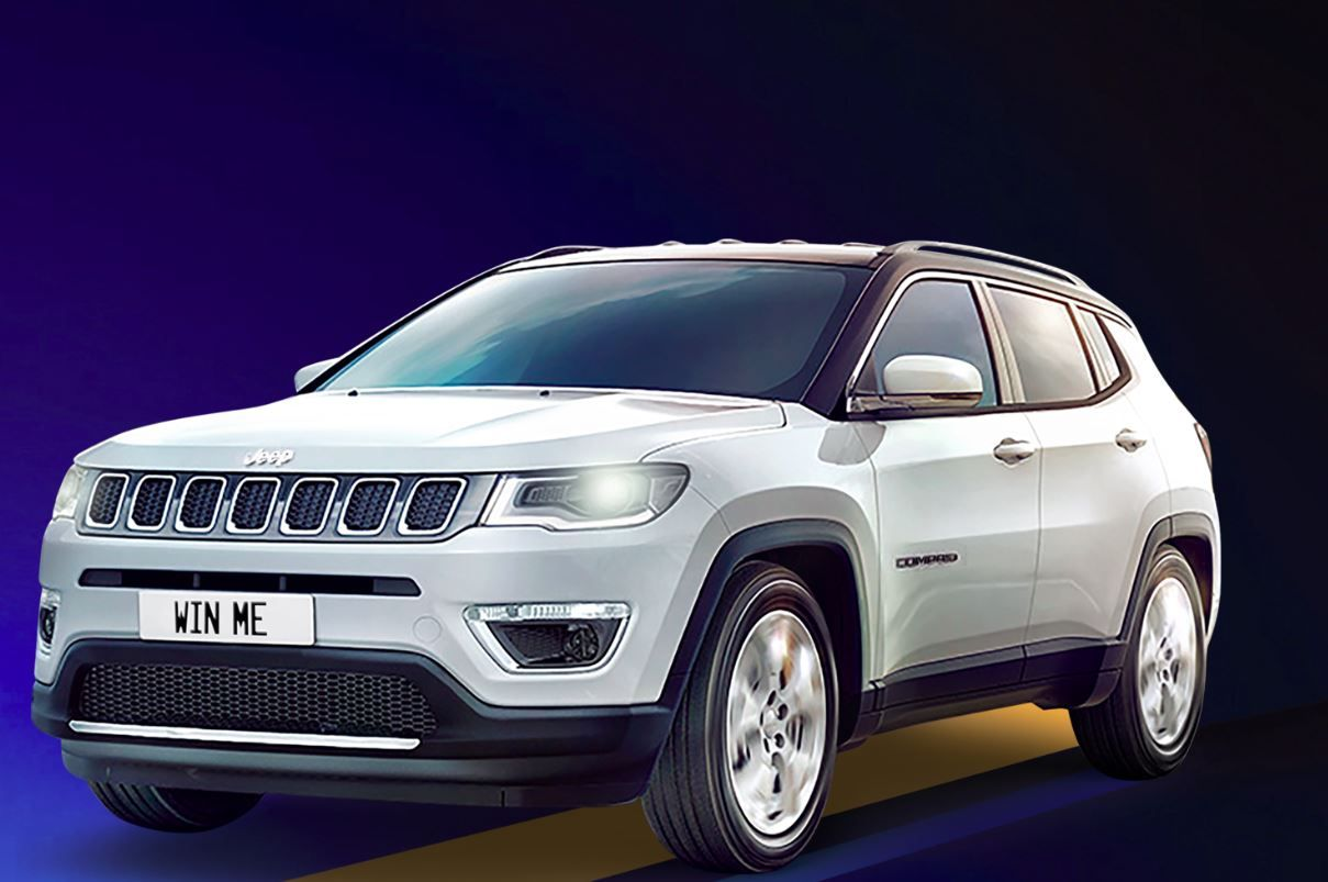 California Casualty Jeep Compass Sweepstakes in 2020