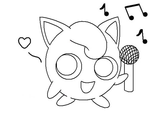 - Jigglypuff Holding Microphone Coloring Page - Download & Print Online Coloring  Pages For Free Color Nimb… Online Coloring Pages, Coloring Pages,  Online Coloring