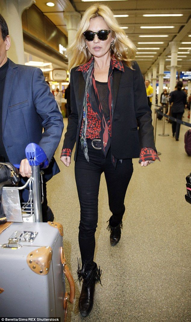 Last-ditch attempt: Kate Moss is reportedly planning to fly to America to meet her husband Jamie Hince in a final effort to save their marriage