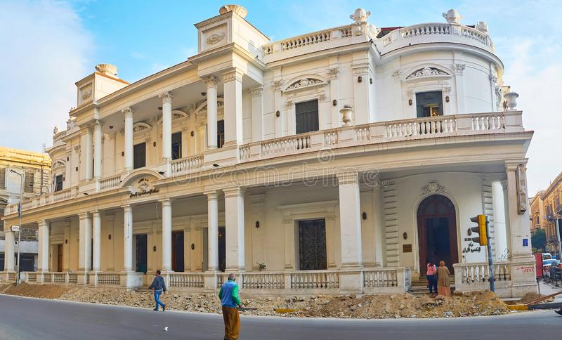 Panorama Of Old Mansion Alexandria Egypt Editorial Photography Image Of Tourism Club 122841102 Mansions Old Mansions Egypt