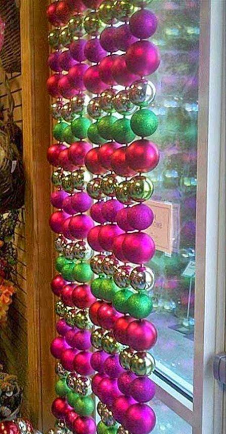 11 Magníficas Ideas para Decorar la Ventana en Navidad Ventana