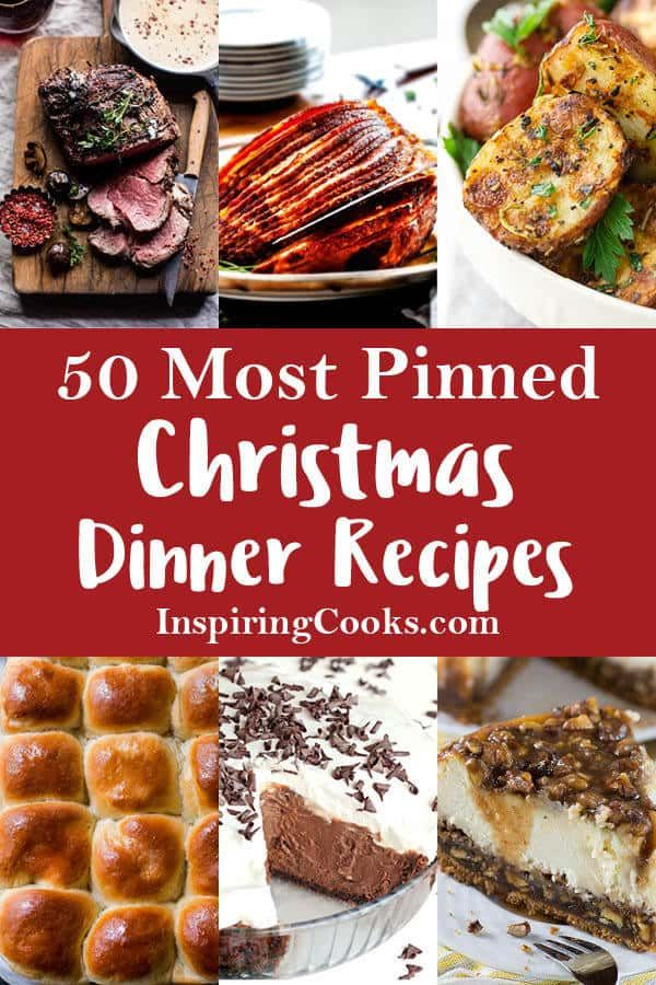 25 Most Pinned Christmas Recipes for the Perfect Dinner images