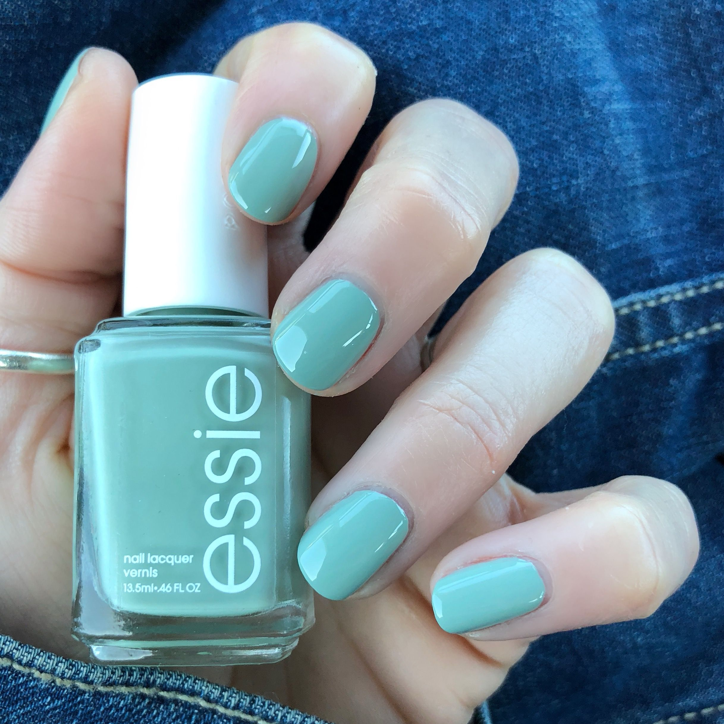 Essie Spring Collection 2018 Bon Boy Age This Is The Perfect Mint