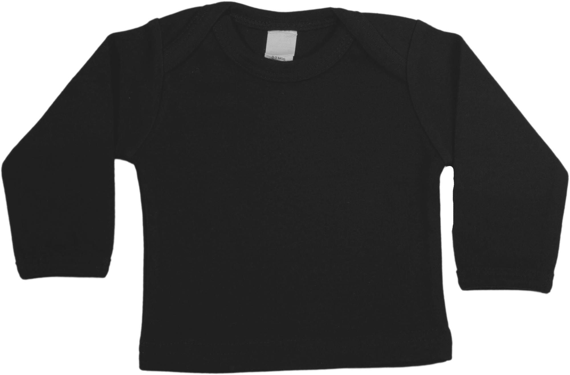 Black Long Sleeve Baby Shirt by Baby Milano