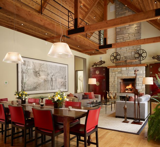 Attractive Interiors Home Staging: Farmhouse, Soucie Horner, Ltd.