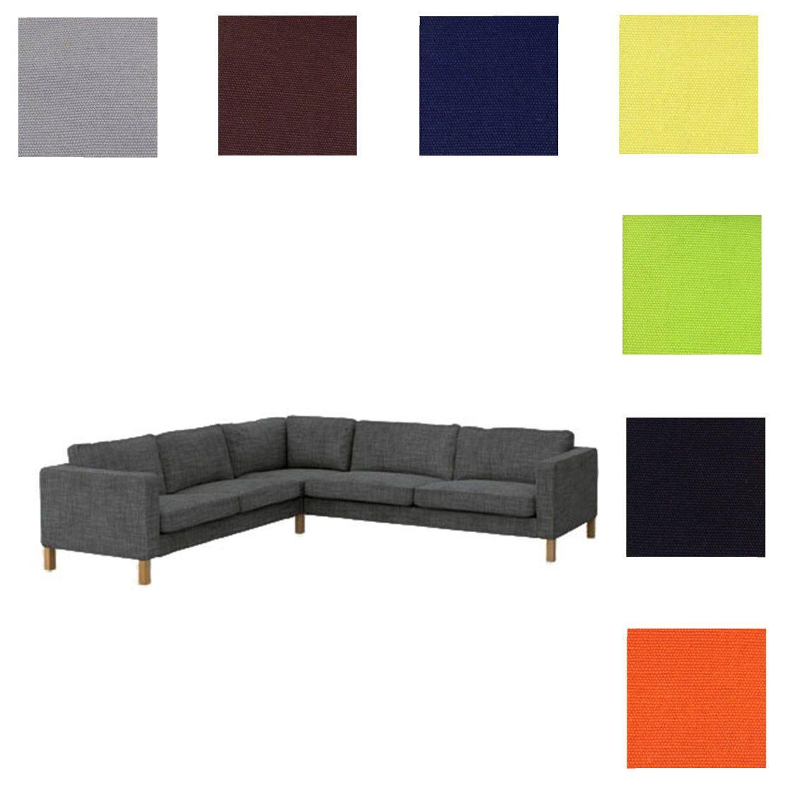 Karlstad 2 3 3 2 Corner Sofa Cover Sectional Sofa Cover In 2020 Corner Sofa Covers Sofa Covers Sofa Back Cushions