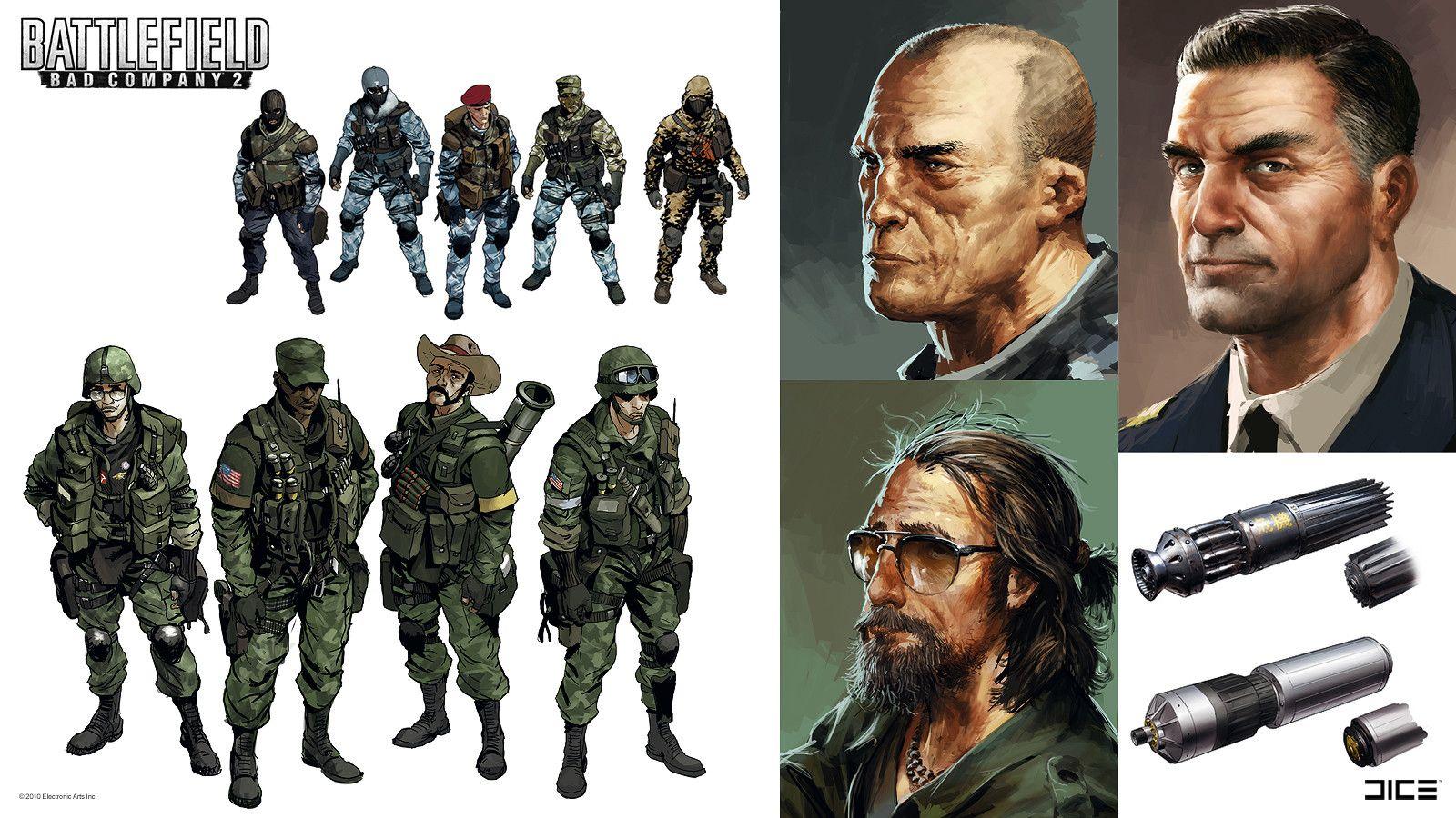 Artstation Battlefield Bad Company 2 And Vietnam Concept Art