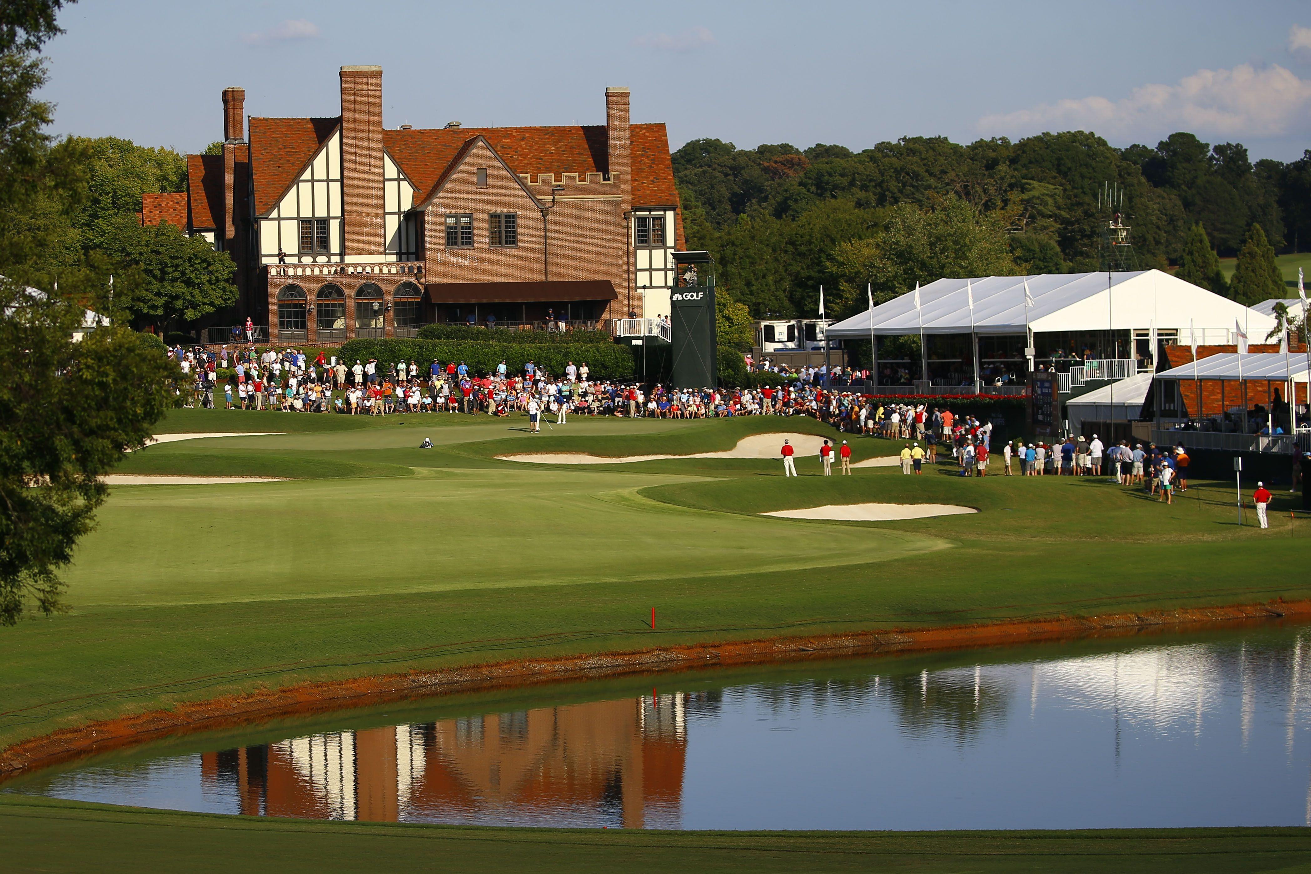 A History Of Atlantas Famous Golf Club In 2020 Club Design Sporting Live Pga