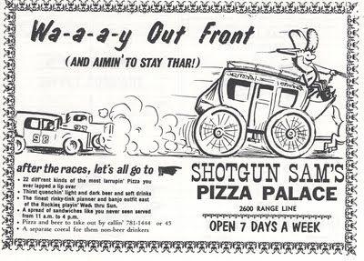 Shotgun sams pizza