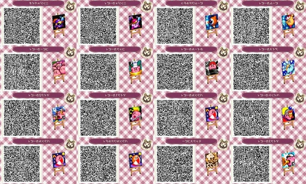 Gallery For Gt Animal Crossing New Leaf Qr Codes Pokemon