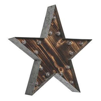 Star LED Marquee Sign Wall Decor