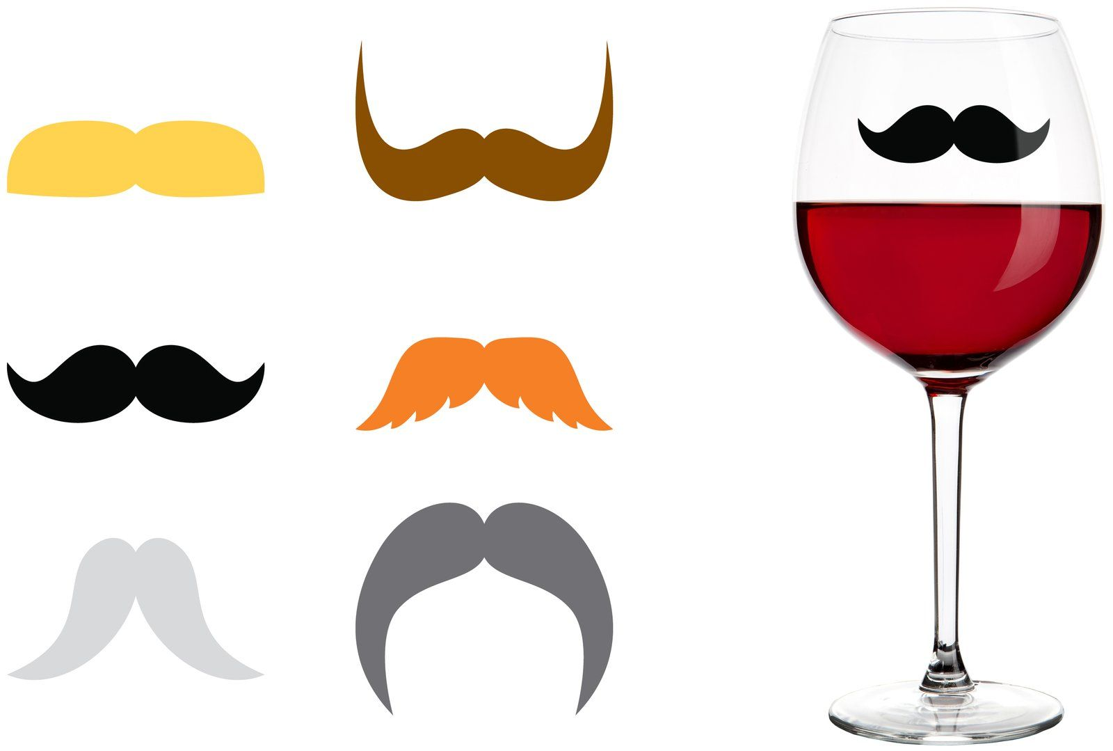 Mustache drink markers party pinterest productos for Articulos decoracion del hogar