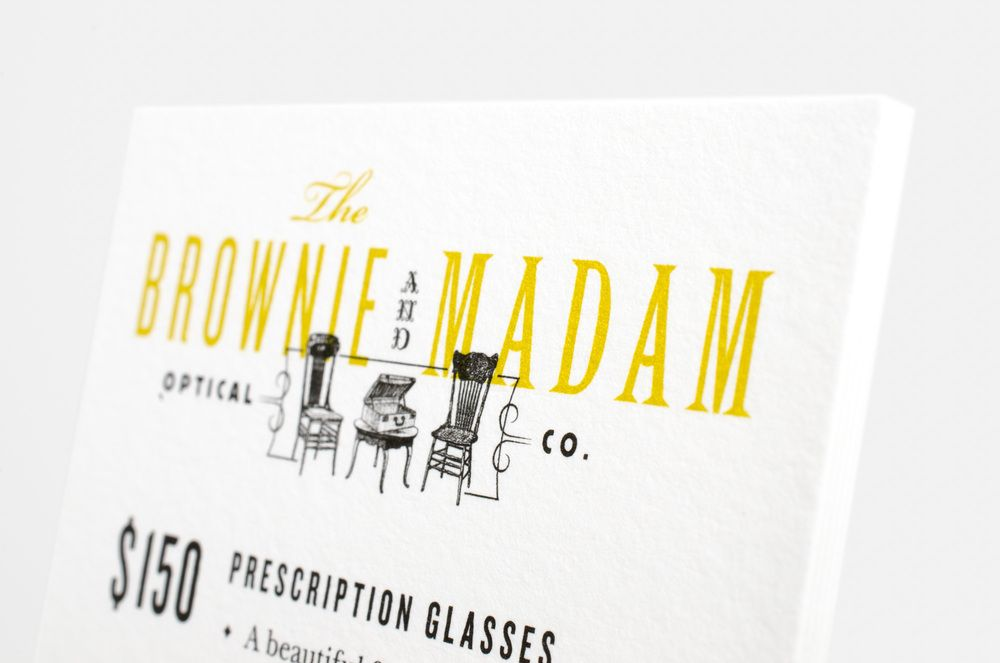 Brownie and Madam branding by CDA
