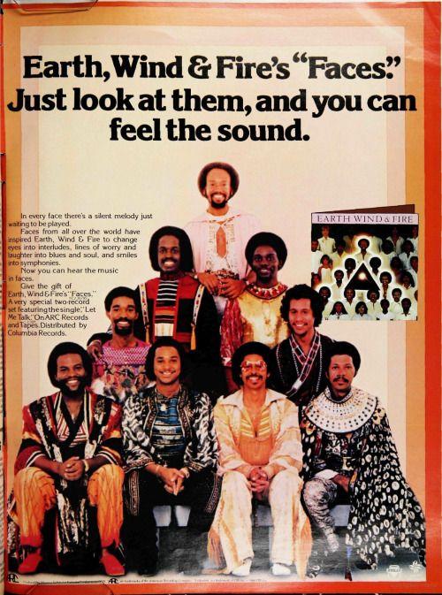 Brandonousley: Vintage Billboard Ad For Earth, Wind & Fire