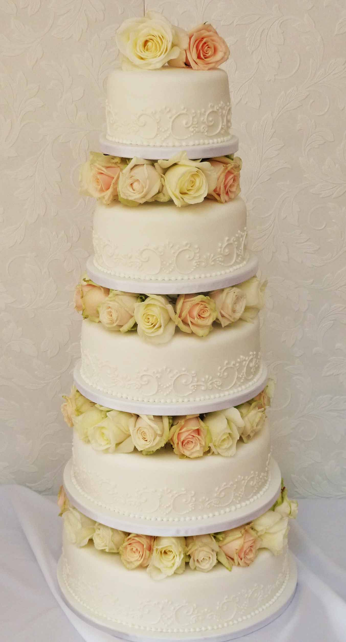 Pearl Lace and Rose | Clifton Cakes | WOW cakes, etc | Pinterest ...