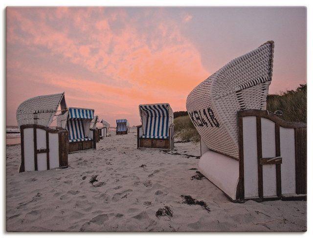 "Photo of Artland Art Print Poster ""Andrea Potratz: On the Beach at Zingst"" | OTTO"
