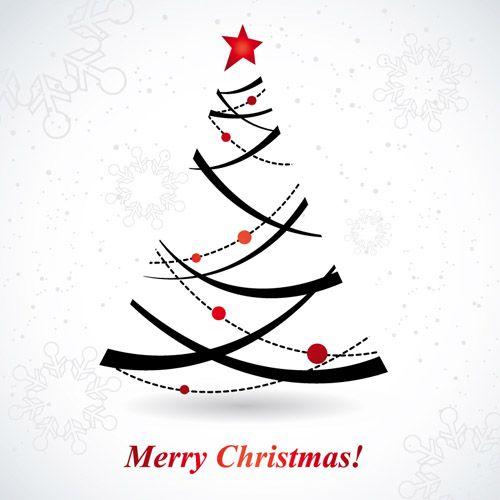 stylized christmas tree silhouette google search christmas