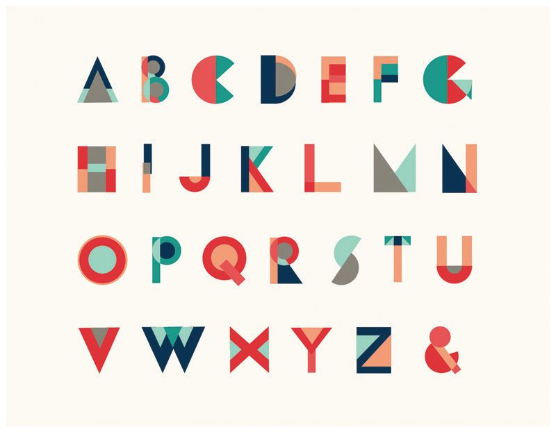 17 Best ideas about Geometric Font on Pinterest | Typography fonts ...