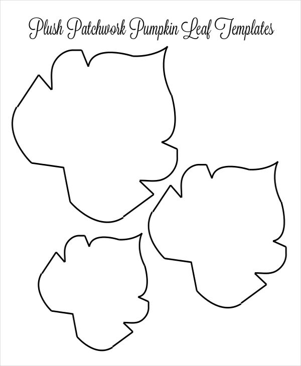 10 Leaf Templates Leaf Template Leaves Template Free Printable