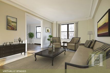 Upper Westside, NYC. 4BR Virtually Staged. Click to see unstaged.