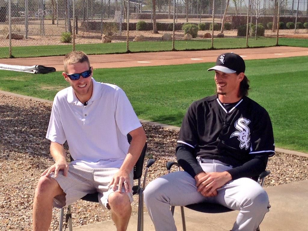 Sale and Shark sit down with CSN Chicago at
