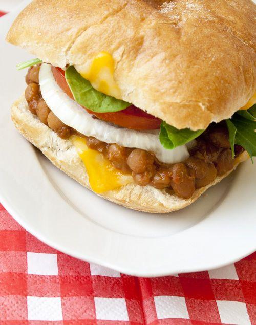 Baked Bean Sandwiche