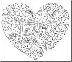 Resultado De Imagen Para Corazon Mandala Coloriage Coeur