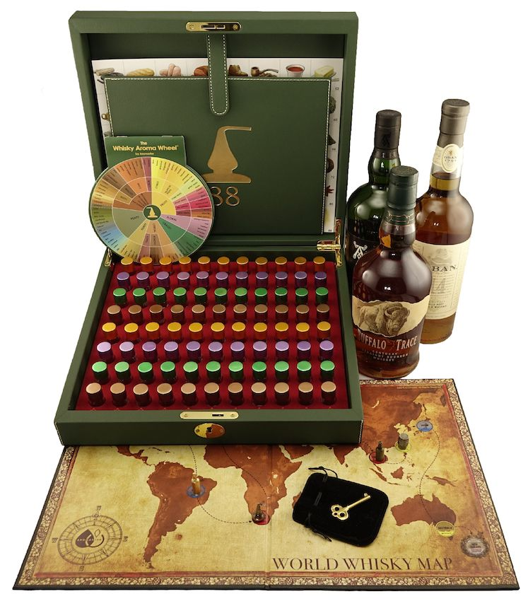 88 Wine Aromas wine game /& wine aroma wheel included Master Wine Aroma Kit