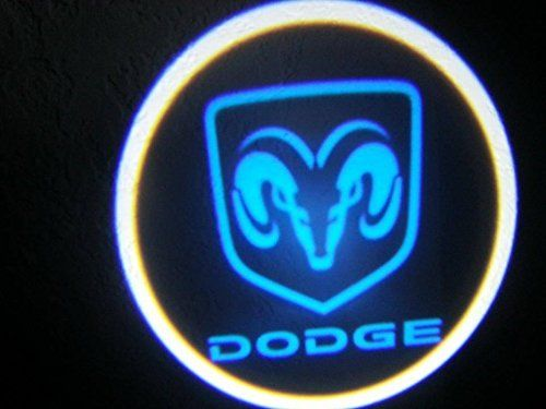 Dodge Blue Ghost Door Logo Lighting Logo Craftsman