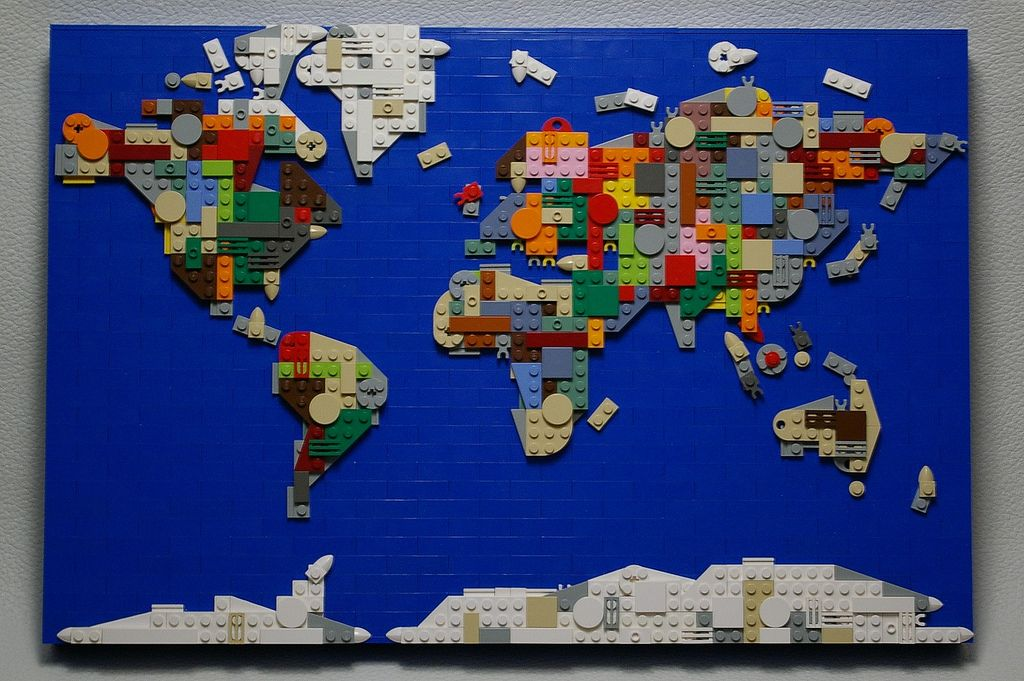 World map front view brickwork lego and lego ideas ooh this would be a cool extra credit project world map front view world map remake gumiabroncs Image collections