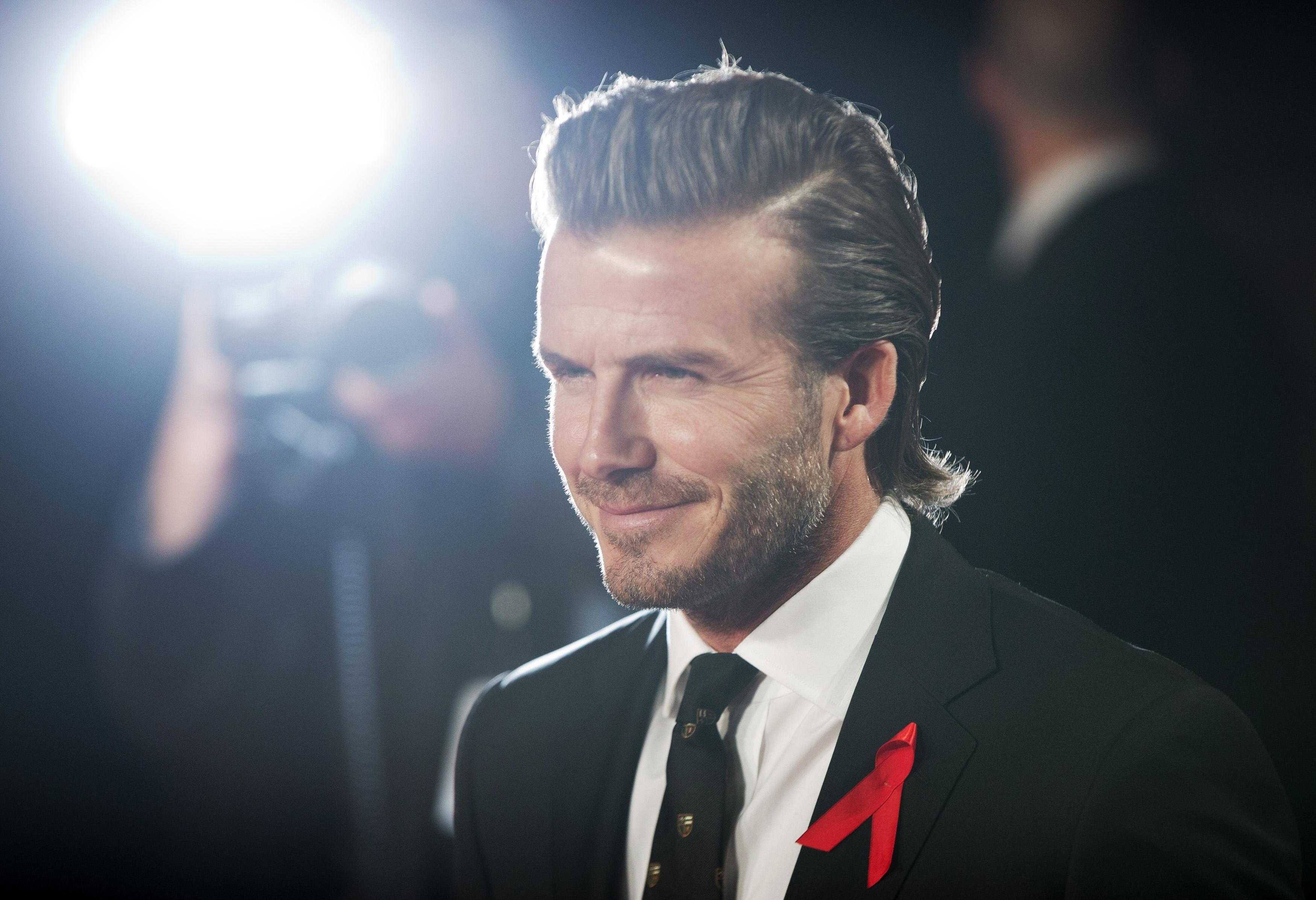 David Beckham 2014