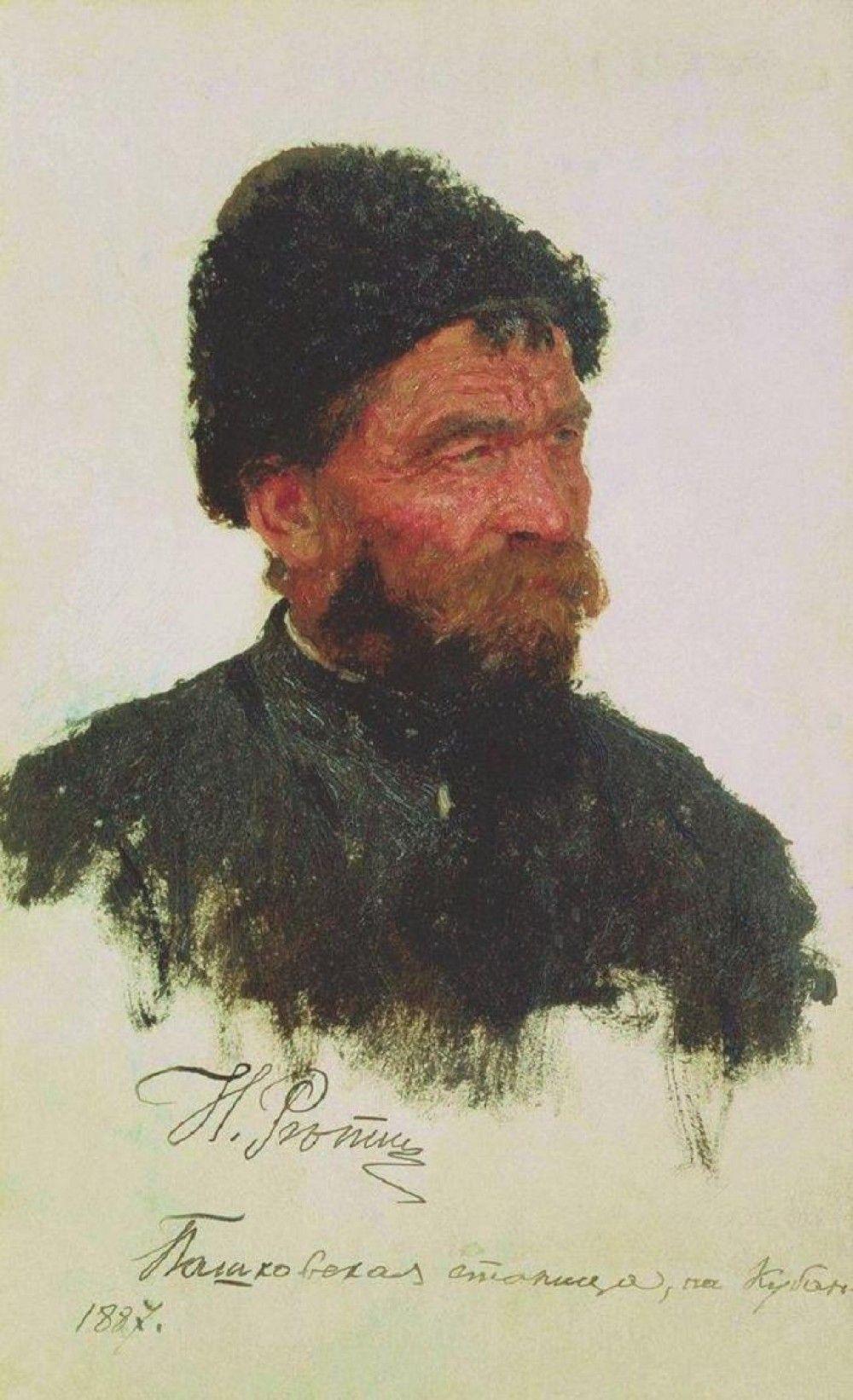 ilya repin a cossack 1887 ilya repin a cossack 1887