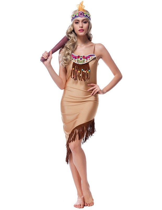 eded2e6bb794d9 Product Code  MHC0230042 Package included  headwear and dress Gender   Female Age Group  Adult Color khaki Pattern  Jungle Queen Occassion   Halloween Party