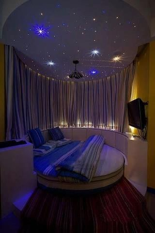 Night Sky Bedroom Dream Rooms Awesome Bedrooms Round Beds