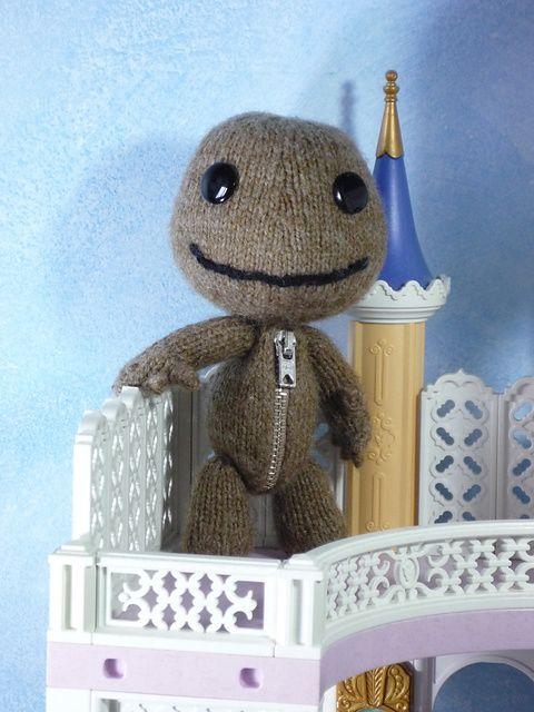 Sackboy pattern by Alan Dart | Nerdy Knits (and Crochet) | Pinterest ...