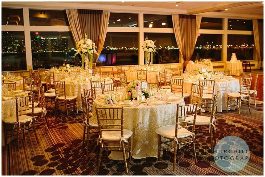 Rusty Pelican Wedding Reception, St.Martha Church wedding