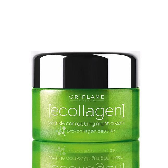 Ecollagen Wrinkle Correcting Night Cream #oriflame http://lifestyle.beautyshop.oriflame.nl