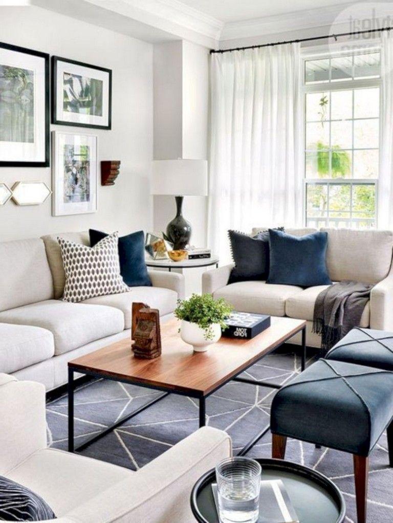 99 Beautiful European Farmhouse Living Room Design Ideas Living