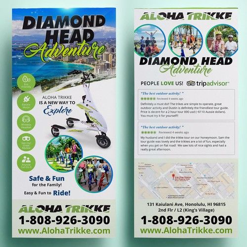 fun tour company in hawaii needs awsome flyer! Postcard, flyer or
