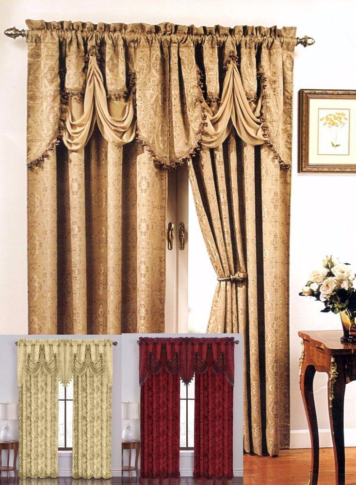 Gorgeous Portofino Rod Pocket Window Curtain, adding striking style to your room #Portofino #Contemporary
