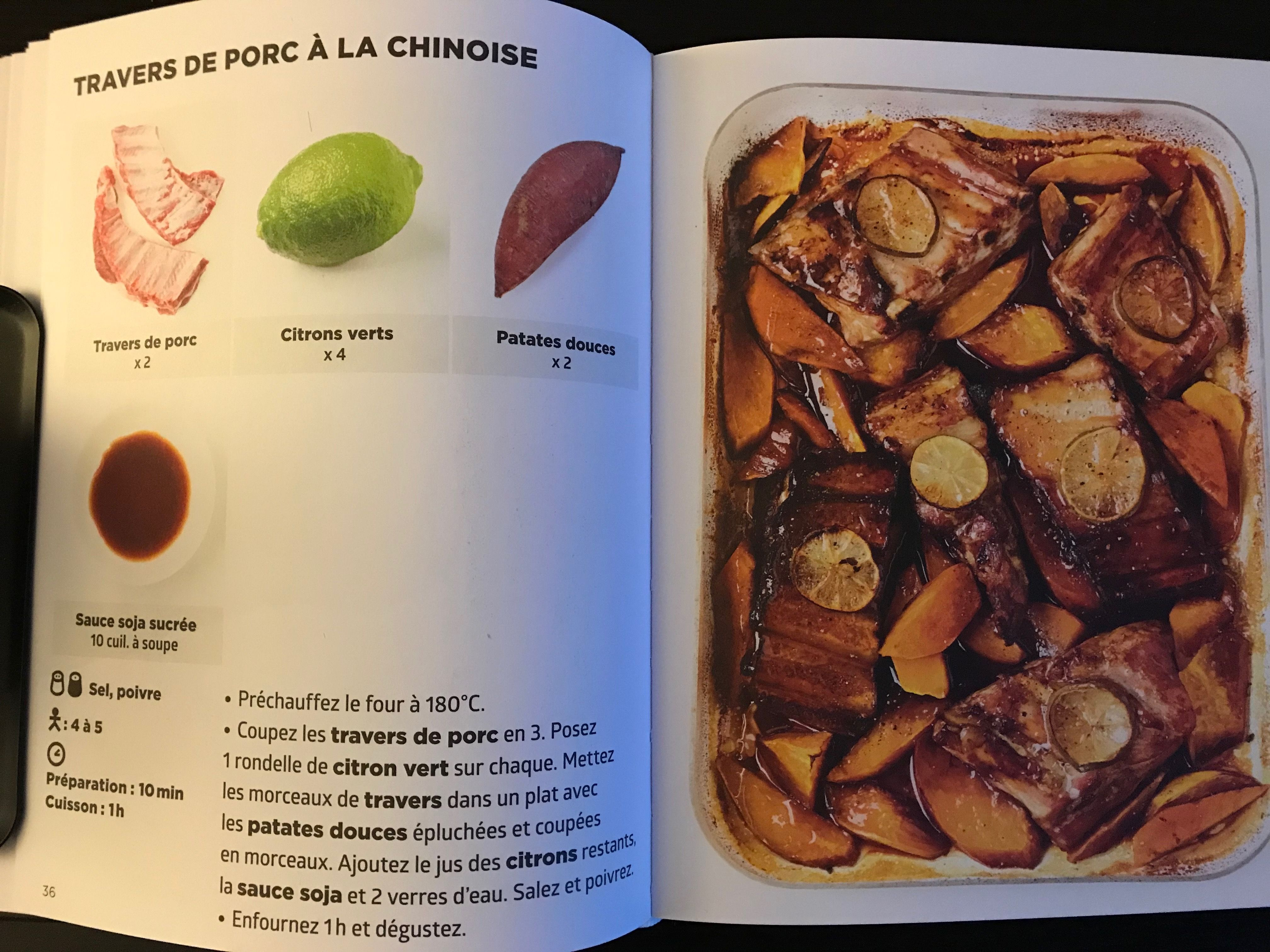 Simplissime travers de porc chinoise cuisine pinterest - Cuisiner travers de porc ...