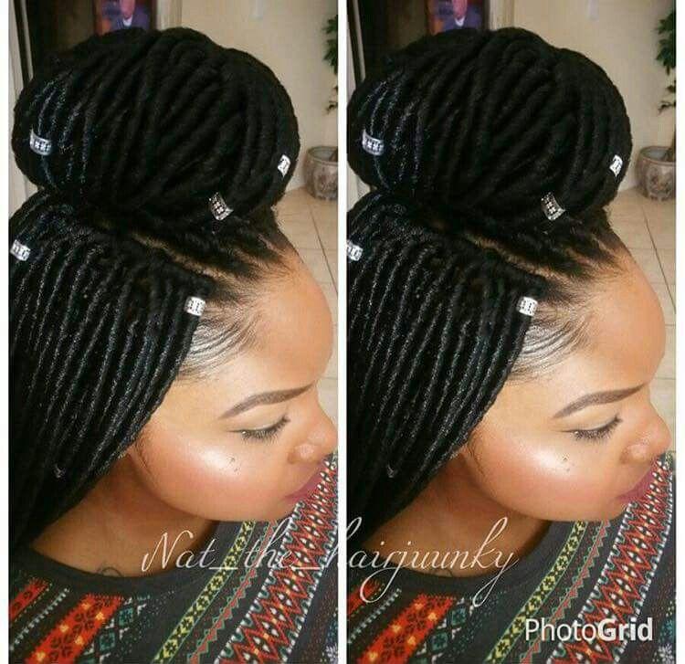 Faux Lox Natural Hair Styles Crochet Braids Hairstyles