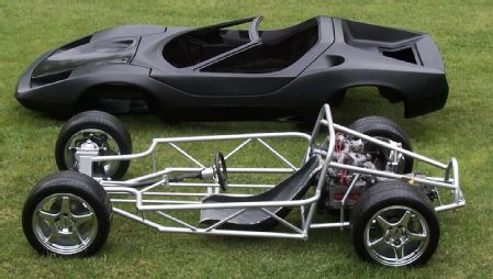 auto frame and chassis 2011 sterling other sterling tube chassis mid engine subaru