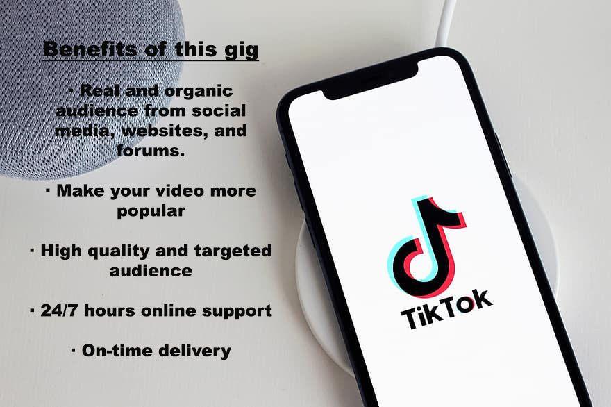 I Will Organically Grow Your Tiktok Account Digital Marketing Social Media Social Media Marketing Services Social Media