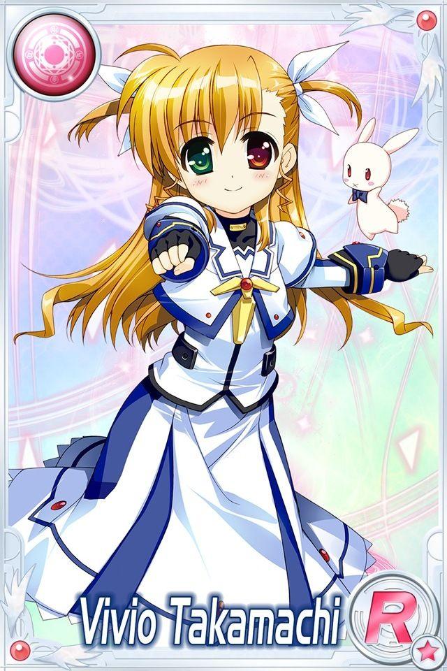 magical girl lyrical nanoha vivio - Google Search | Anime!! | 魔法少女、アニメ ...