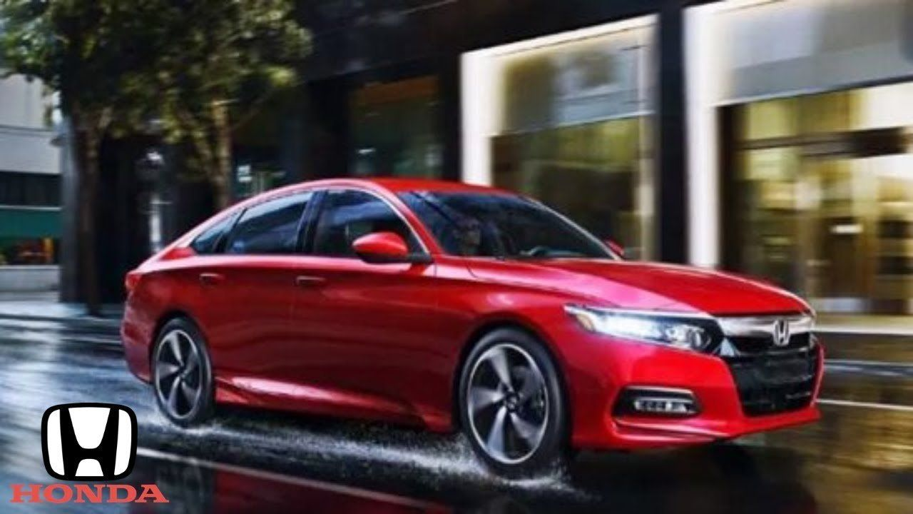 2019 Red Honda Accord Sport Price and Review from 💥 2019